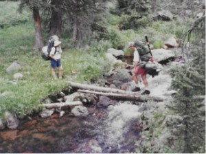 Backpacking crossing
